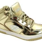 Zilveren en gouden Heelys in maat 33
